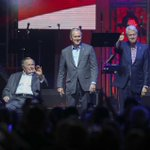 Former presidents and Lady Gaga highlight hurricane relief concert at Texas A&M