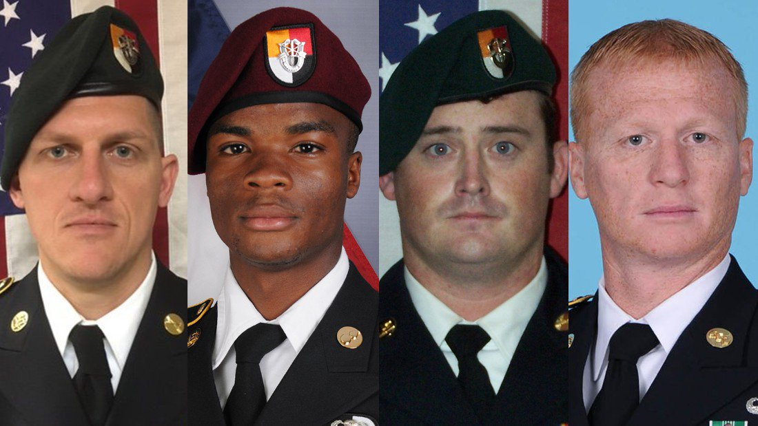 These are the four U.S. soldiers who were killed in the Niger attack https://t.co/E9a8TbLb2o https://t.co/l9IFdlWslT