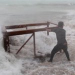 Storm Brian Hit Ireland UK United Kingdom Europe - Hurricane Flood Waves Ouragan England 10/21/2017
