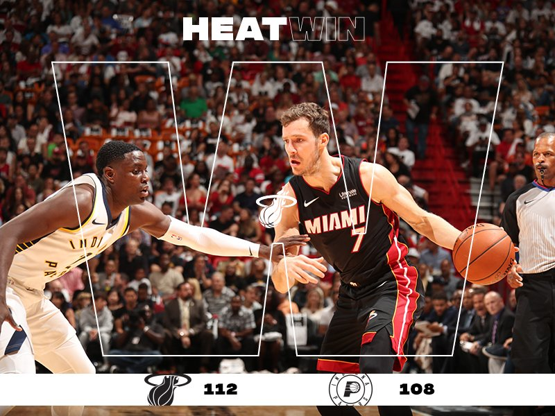 HEATWin!  Your @MiamiHEAT figh pacers