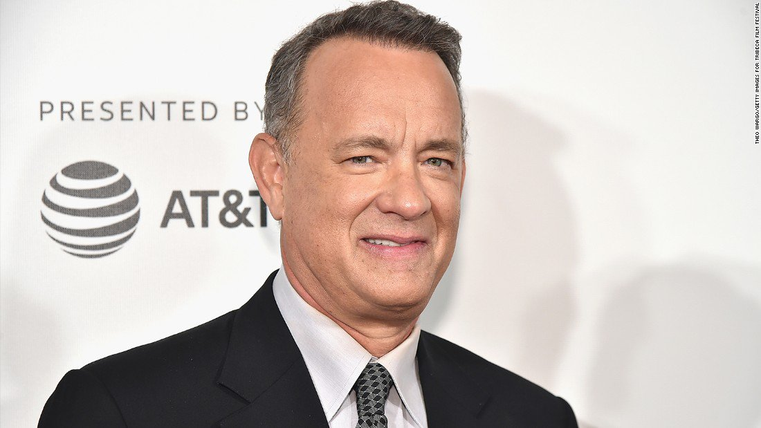 """Tom Hanks """"If you're concerned about what's going on today, read history"""""""