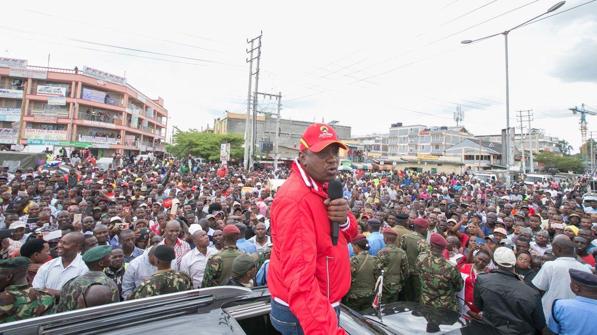 Country is bigger than Raila, says President Uhuru