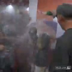 Headed to the #WorldSeries?This calls for a celebration. #CLINCHED