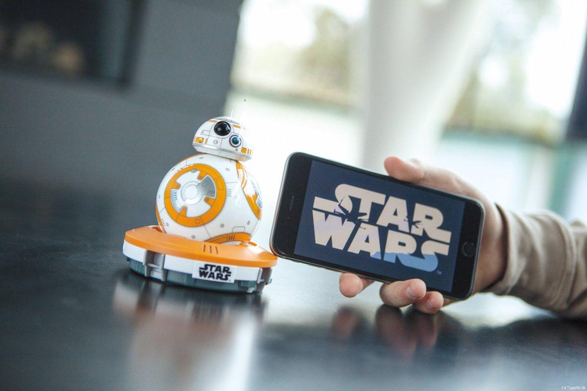 Star Wars Sphero BB-8 App-Enabled Droid https://t.co/Xy6XhsXv2a #StarWars #ForceAwakens #BB8 https://t.co/HYuZXHazeo