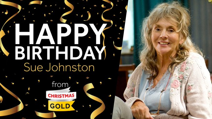 Please join us in wishing the wonderful Sue Johnston a very Happy Birthday!