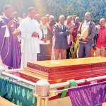 Sokoine's son buried amid confusion about his death