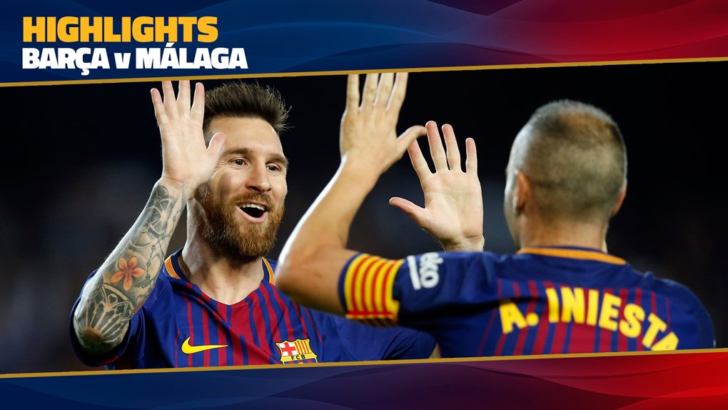 �� MATCH HIGHLIGHTS   Have you seen the goals of #BarçaMálaga (2-0)? �� https://t.co/ghAR18u7jx https://t.co/vaxDF55WRj