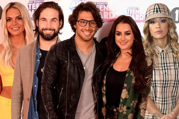 Radio 1 Teen Awards: Celebrity arrivals