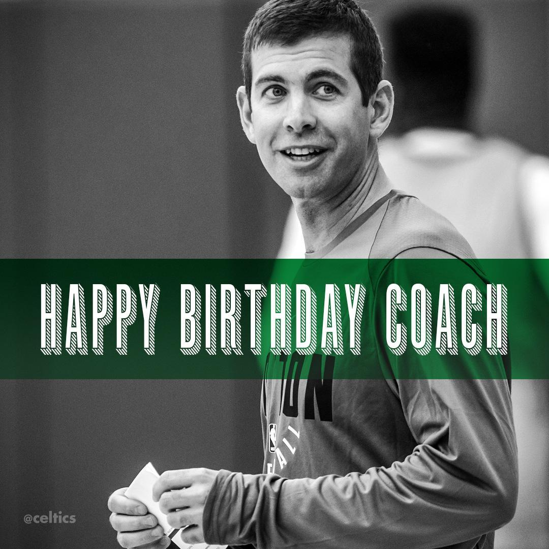 Happy Birthday Coach ����☘ https://t.co/asfWWk8jCX