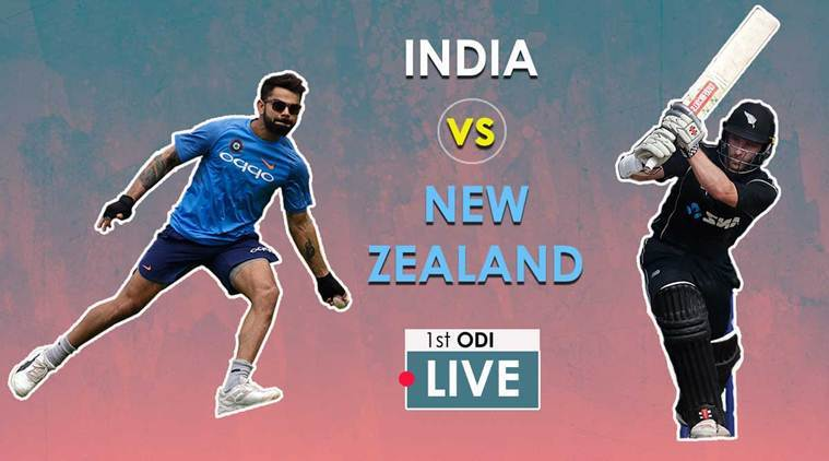 India vs New Zealand Live Cricket Score 1st ODI at Wankhede: India win toss and opt to bat against NewZealand
