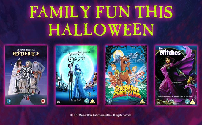 Win Four Family Halloween Movies From Warner Bros