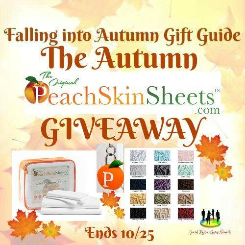 PeachSkinSheets Giveaway (10/25)