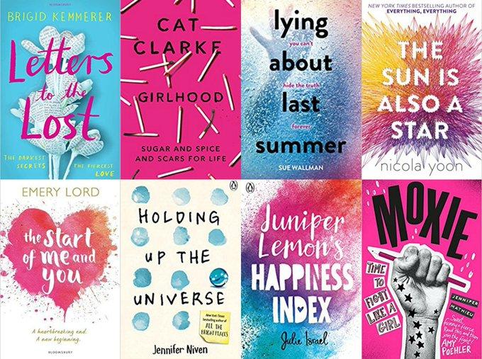 8 YA Books Giveaway