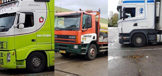 Vrachtwagenkraker(s) slaan toe op klaarlichte dag https://t.co/mvQHbQlVvV https://t.co/qzy9rEJR7F