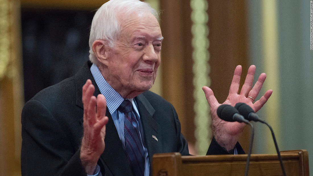 Former President Jimmy Carter wants to partner with President Donald Trump