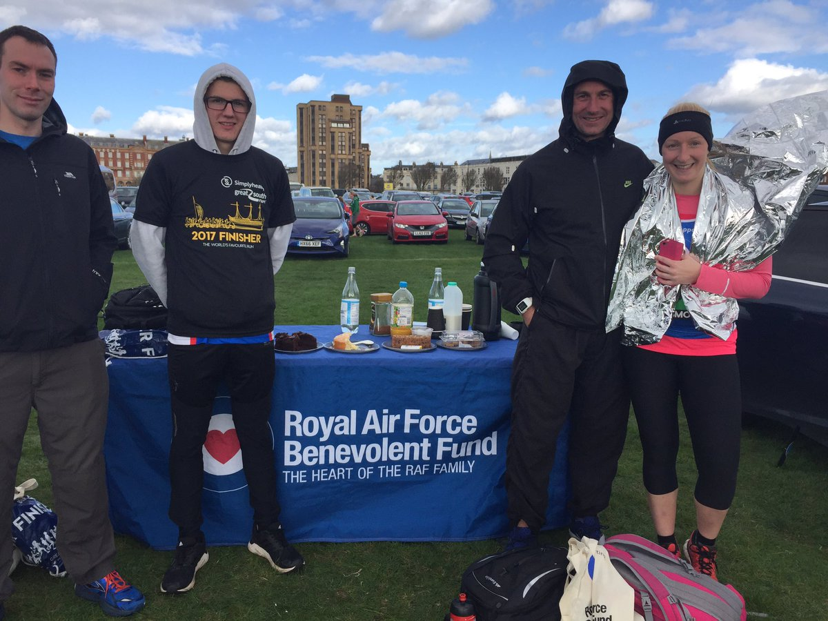 test Twitter Media - RT @HeatherRAFBF: Our Great South Runners raising money @RAFBF in Portsmouth today!  Well done guys! https://t.co/FU5o8iKLzn