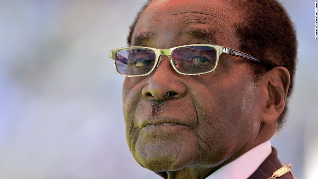 JUST IN Zimbabwean President Robert Mugabe removed as WHO goodwill ambassador amid outcry