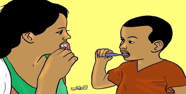 PARENTING : Tooth care for young children