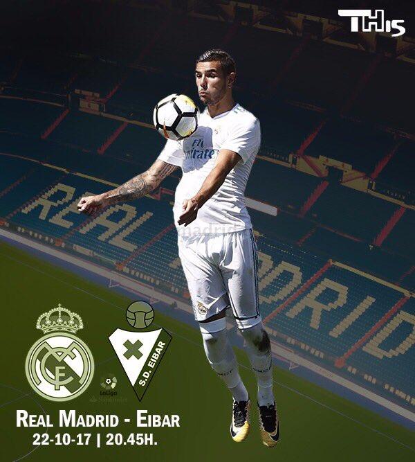 Día de partido con el apoyo de nuestra afición!!!! Nos vemos en el Bernabéu!!!! #HalaMadrid #TH1️⃣5️⃣ https://t.co/sycWM3JPNp