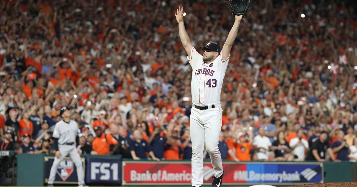 No apologies needed as amazing Astros crash the World Series: 'We spoiled the party' https://t.co/snVWyRl0LS https://t.co/mz9Z3fornk