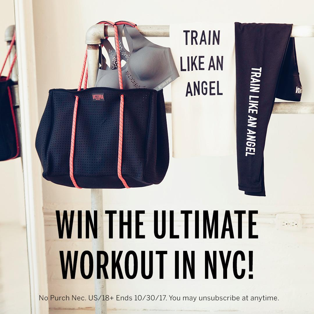 Get after it! Enter for a chance to #TrainLikeAnAngel in NYC, plus more awesome prizes: https://t.co/Flbzq3BoJi https://t.co/SWSbkeVlTS