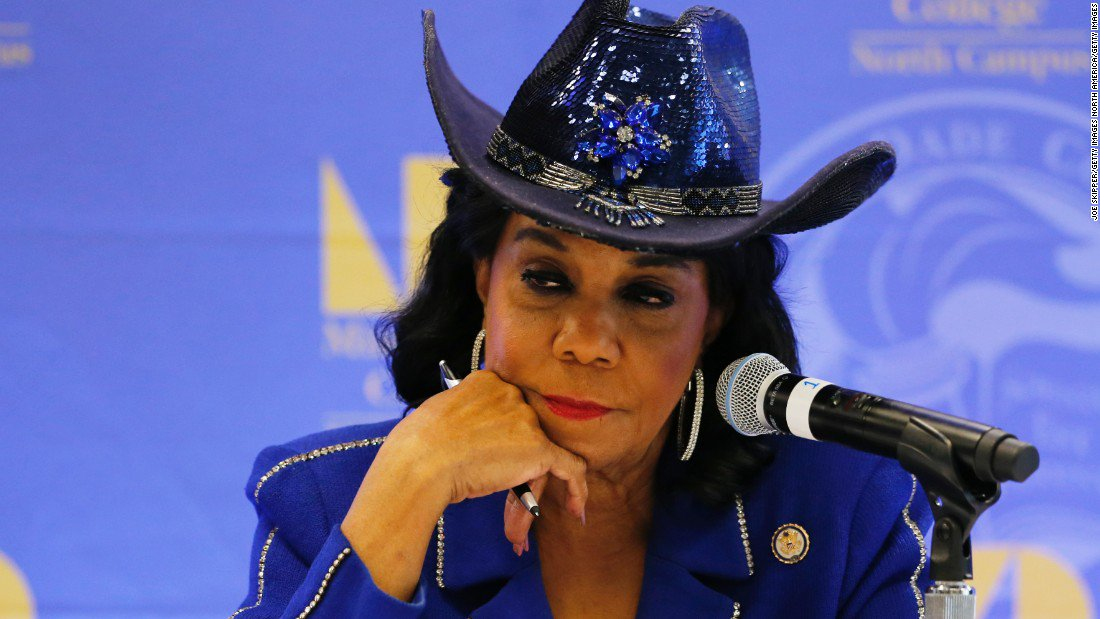 Rep. Frederica Wilson hits back at President Trump Niger is his Benghazi