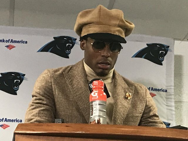 Cam Newton looks like he's about to introduce Gladys Knight on this episode of Soul Train https://t.co/LoIxJpODpb