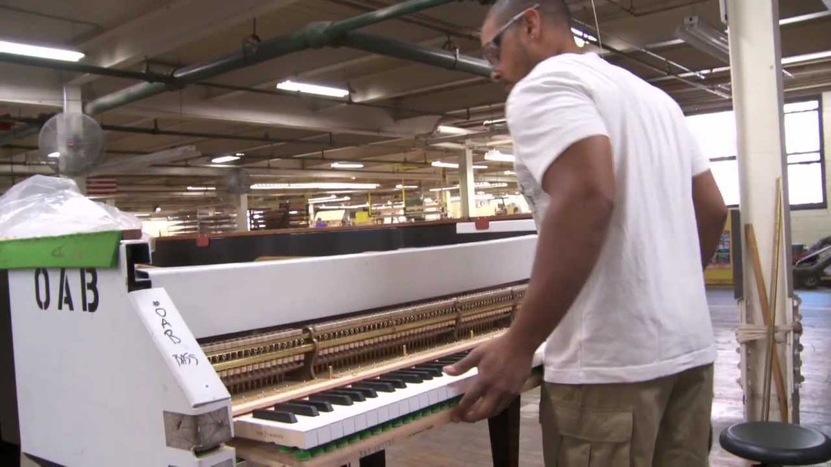 RT @openculture: The Making of a Steinway Grand Piano, From Start to Finish https://t.co/5lXw4HLGYT https://t.co/tXsbT8bz8i