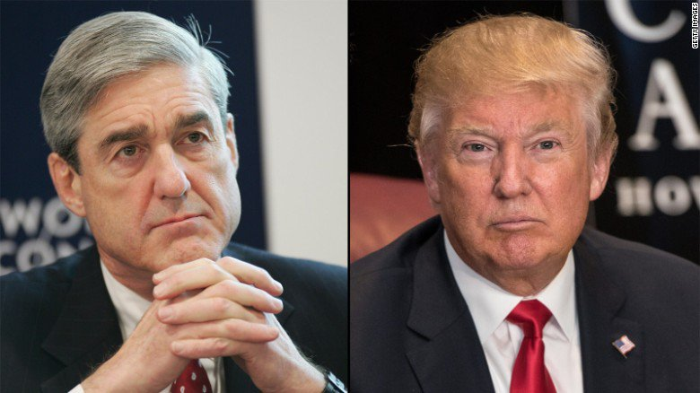 Trump says he hasn't been asked to do an interview with special counsel Robert Mueller