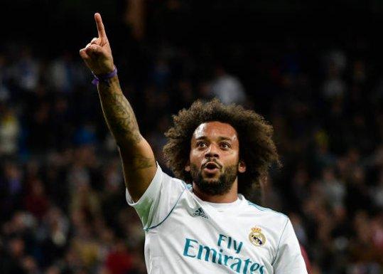 """🎙️Marcelo """"Señalé el escudo en la celebración del gol porque soy del Real Madrid"""" #LaLiga"""