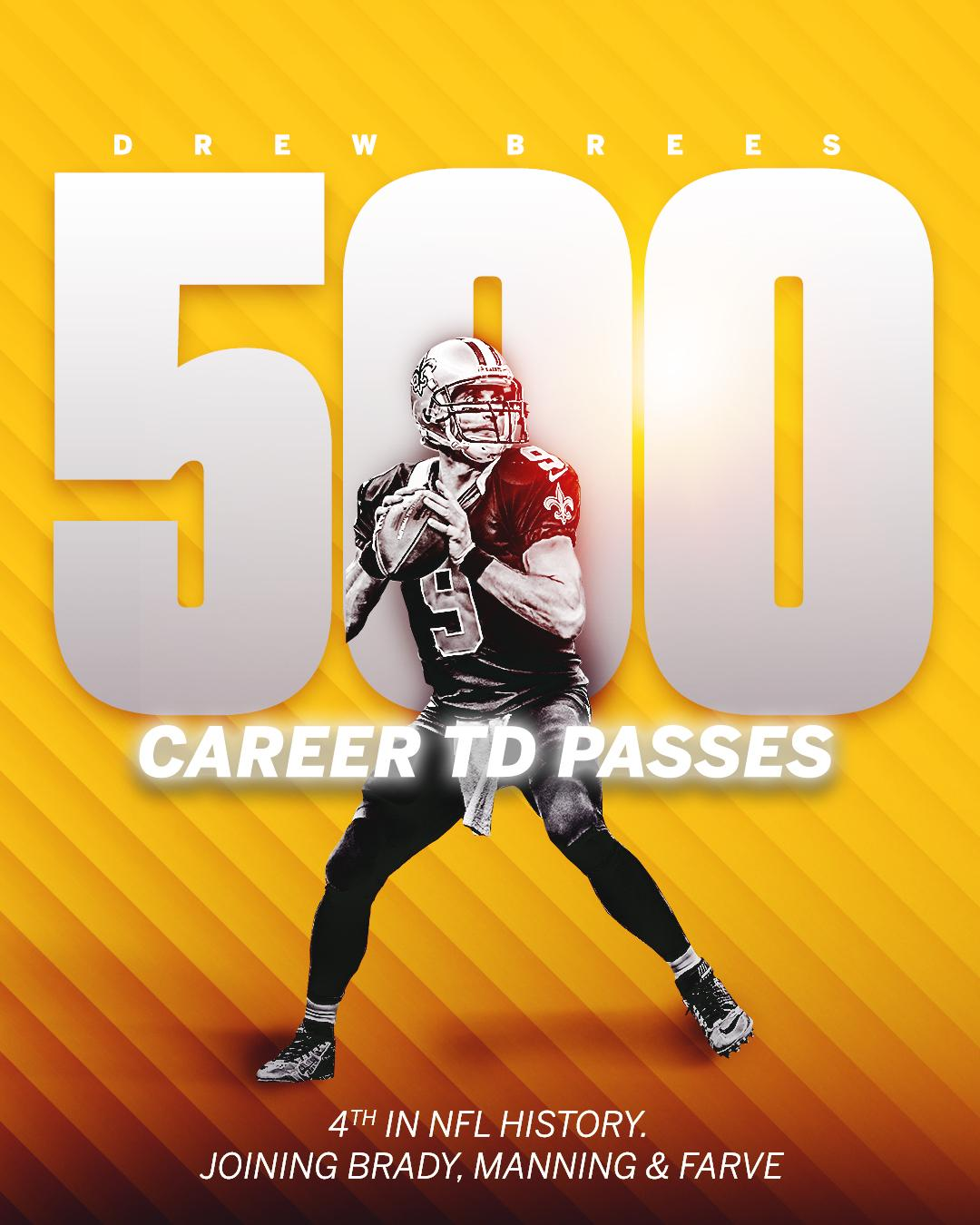 Another milestone for Drew Brees. https://t.co/70MRMTJQV1