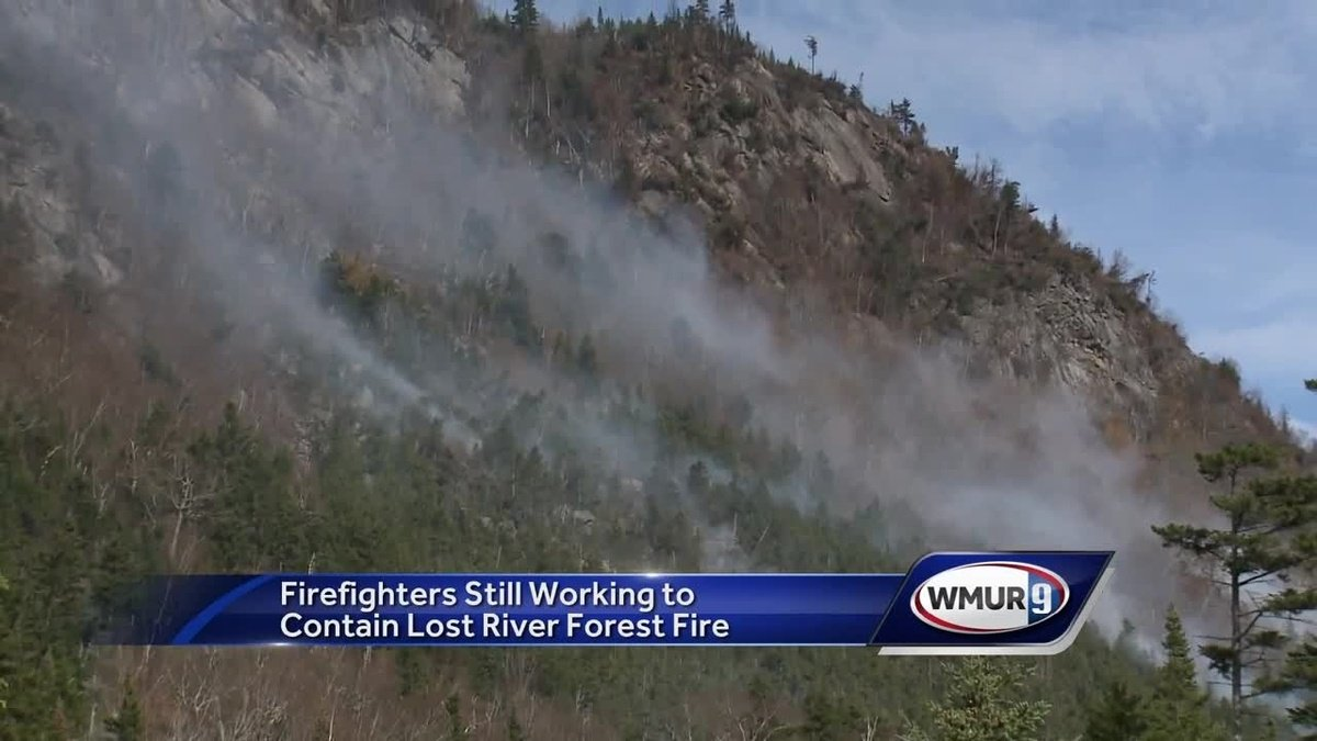 Firefighters still working to contain Lost River Gorge forest fire