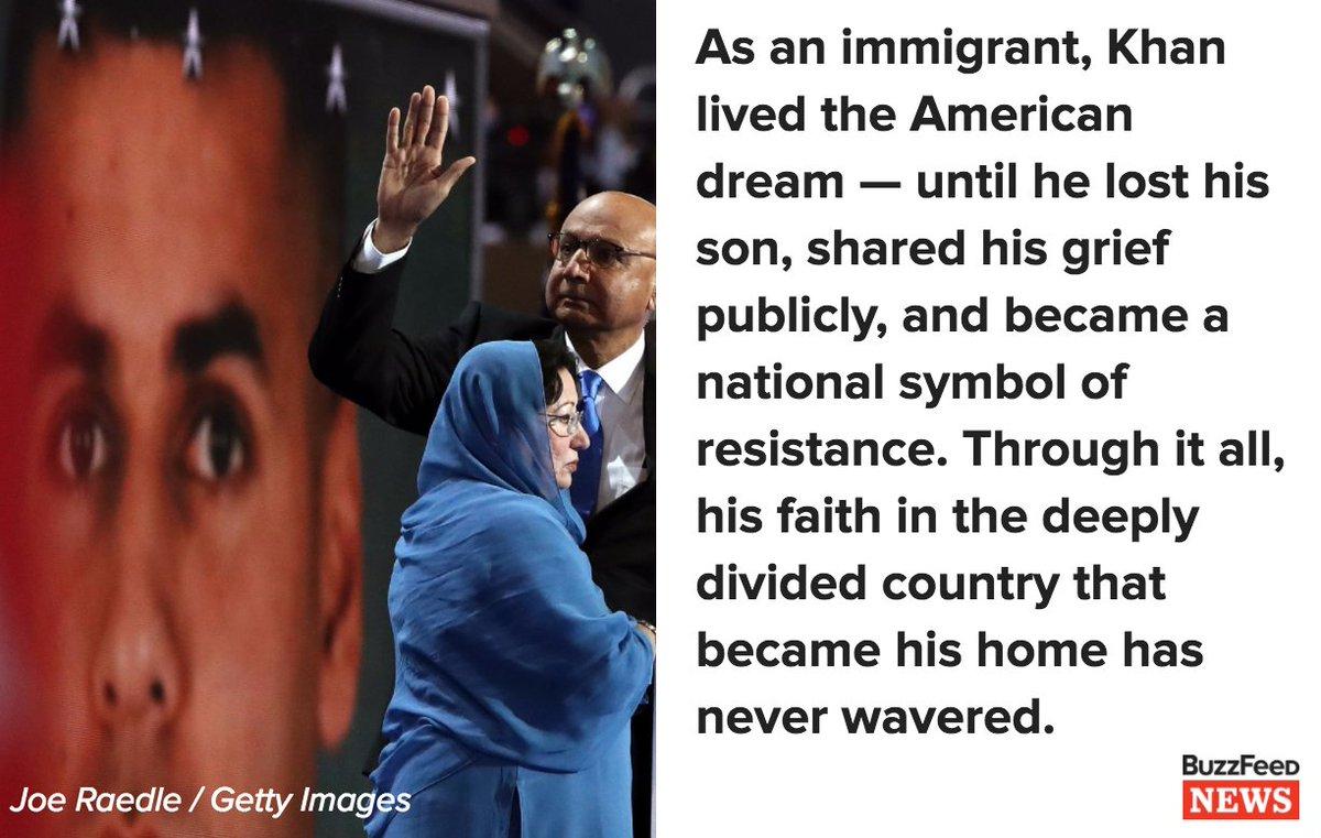 Gold Star dad Khizr Khan still has hope for America https://t.co/rel4p65TQs https://t.co/uWBY1y0Y5J