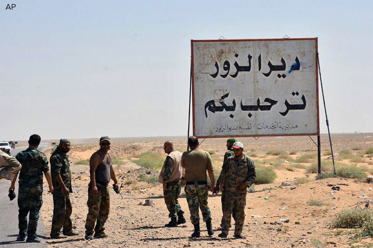 U.S.-backed fighters take Syria's largest oil field after three years under Islamic State control. https://t.co/mQfrR3VW7B https://t.co/I5aUmdzGg8