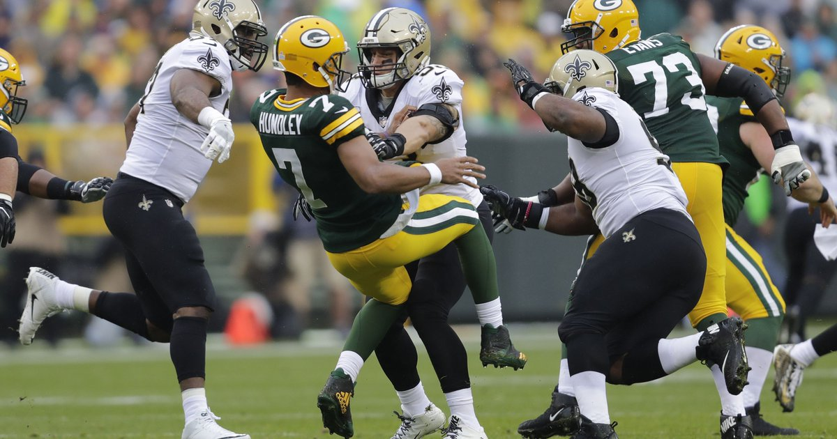 Packers get reality check with Brett Hundley in loss to Saints https://t.co/8QIKOXQa8w https://t.co/r23tfv5TdN