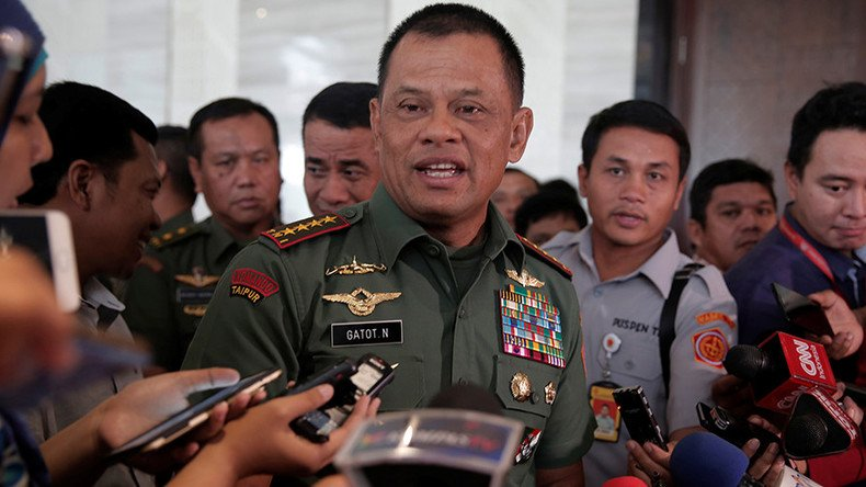 Indonesia's military chief invited to US, then barred from entering at last minute