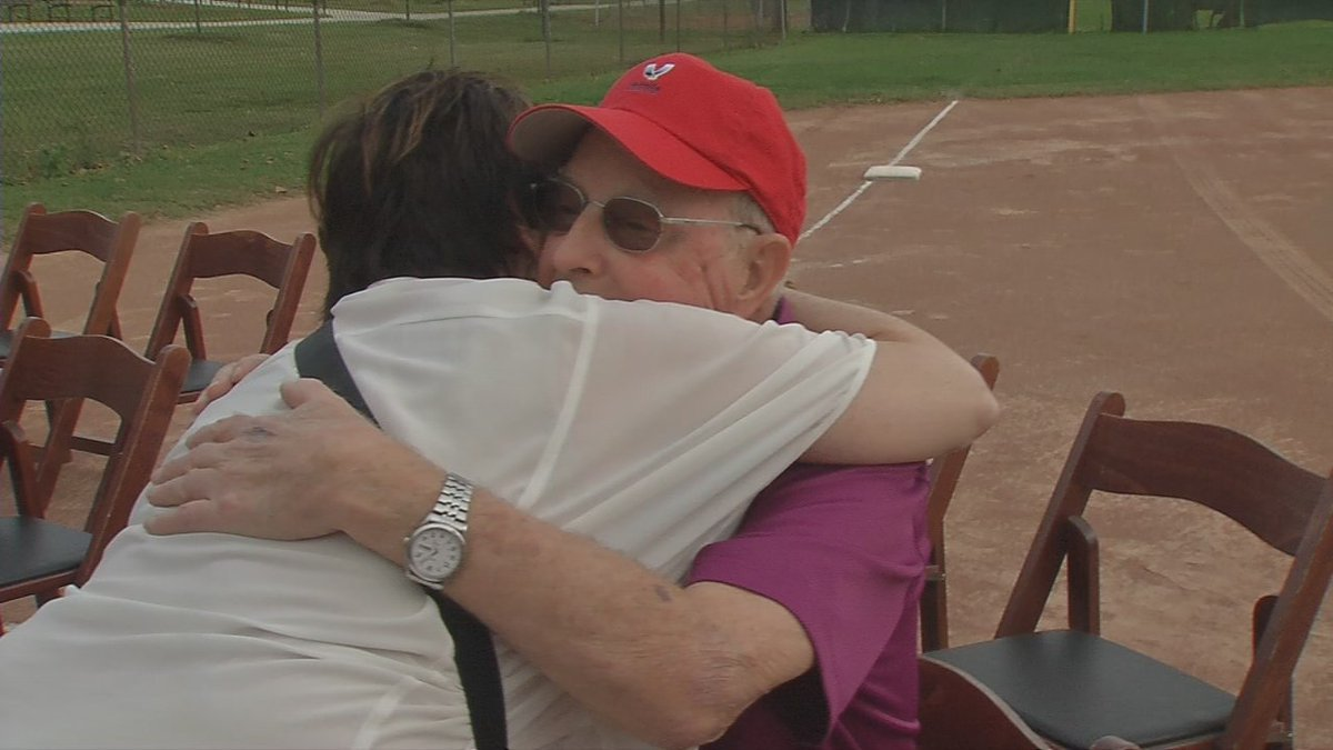 Softball field dedicated to local coach diagnosed with brain cancer