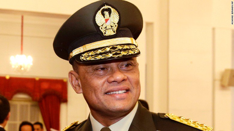 Indonesian military chief denied entry to the United States