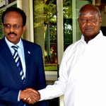 Presidents Museveni and Abdullahi of Somalia hold bilateral talks