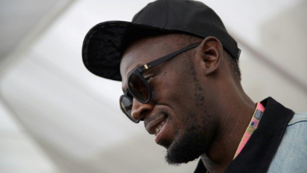 Bolt determined to pursue football dream