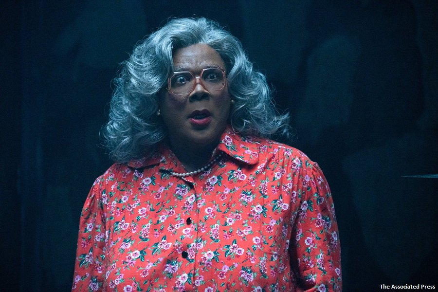 """""""Boo 2! A Madea Halloween"""" scares up a healthy $21.7 million to take the top spot at the box office. https://t.co/lw0FVF9v3h https://t.co/K79rZOosM2"""