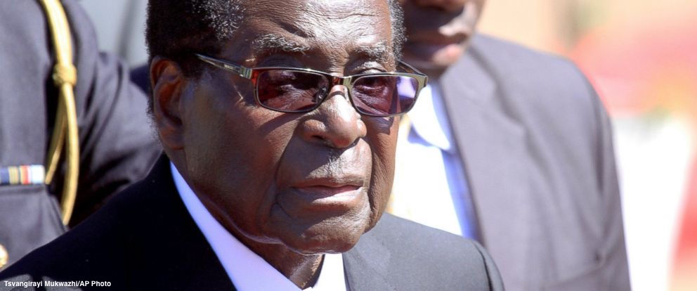 """WHO rescinds Robert Mugabe's """"goodwill ambassador"""" appointment amid outrage over track record of human rights abuses https://t.co/X4UMf6vo9F https://t.co/iLX3cUgtcn"""
