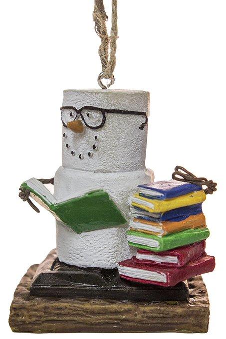 S'Mores Book Lovers Book Nerd Christmas/ Everyday Ornament https://t.co/3tR4otmzt9 https://t.co/sQ8vmMlagz