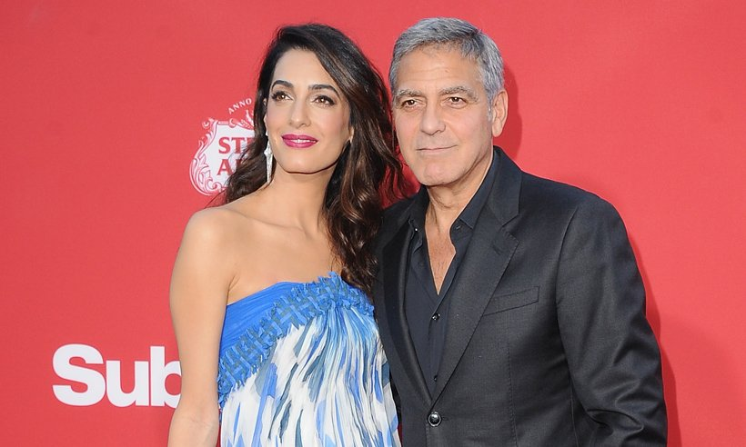 George Clooney says daughter Ella looks just like her mum Amal!