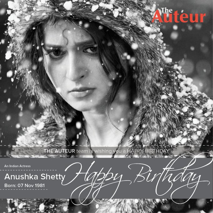 Happy Birthday Anushka Shetty - Wish you a good luck...