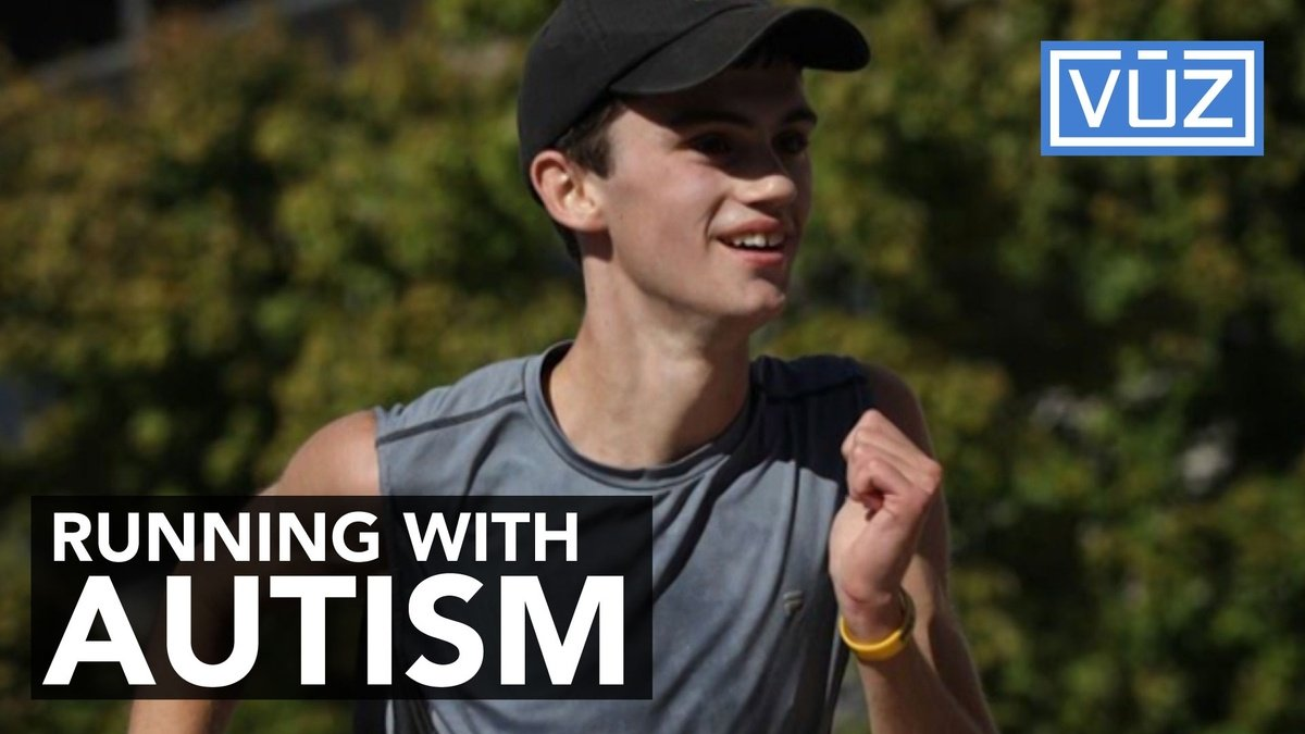 Sixteen-year-old with autism only been running for a year, already winning half marathons