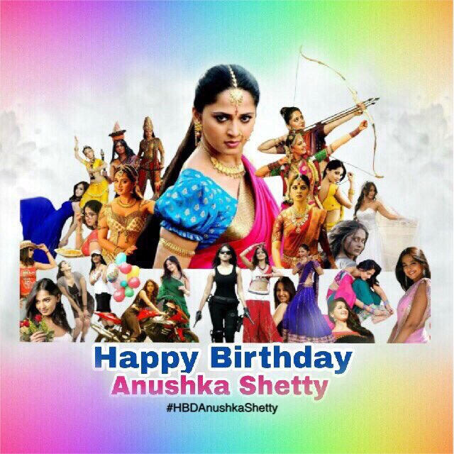 Happy birthday to lady superstar.. our beloved anushka shetty... All time favorite person of mine..
