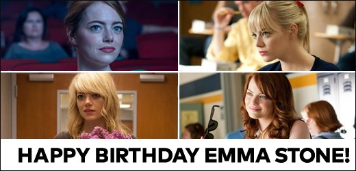 Happy birthday Emma Stone! What\s your fave movie of hers?
