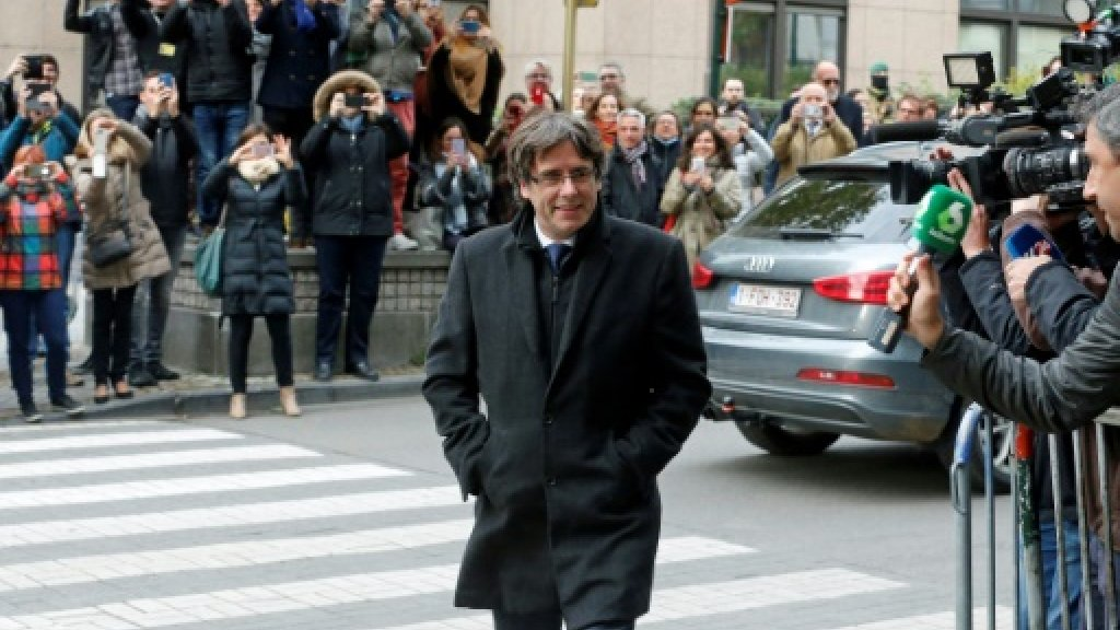 Ousted Catalan leader blasts Spain after Belgium frees him