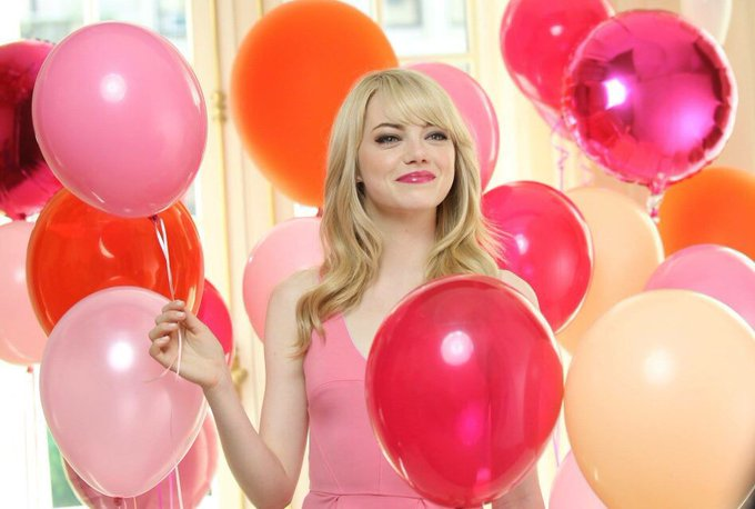 Let\s wish a very happy birthday to Emma Stone who played in trilogy!
